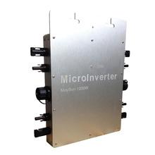 Maysun1200W 22-50VDC Waterproof Pure Sine Wave On Grid Tie Micro Inverter to 60 or 72 cells solar panels 100V/110V/120V/127V AC(China (Mainland))