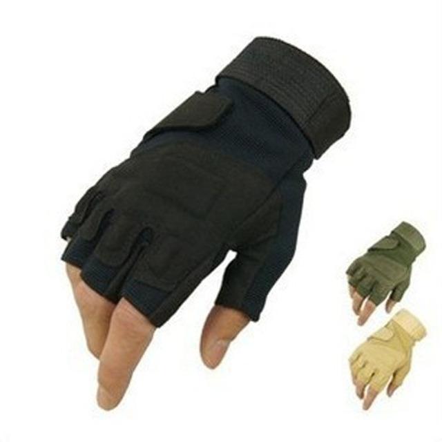 Blackhawk HellStorm тактические перчатки без пальцев открытый тренажерный Airsoft ...