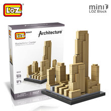 Buy LOZ Mini Blocks Rockefeller Center Architectural Building Models World Famous Architecture LOZ Building Blocks Toys Children for $7.78 in AliExpress store