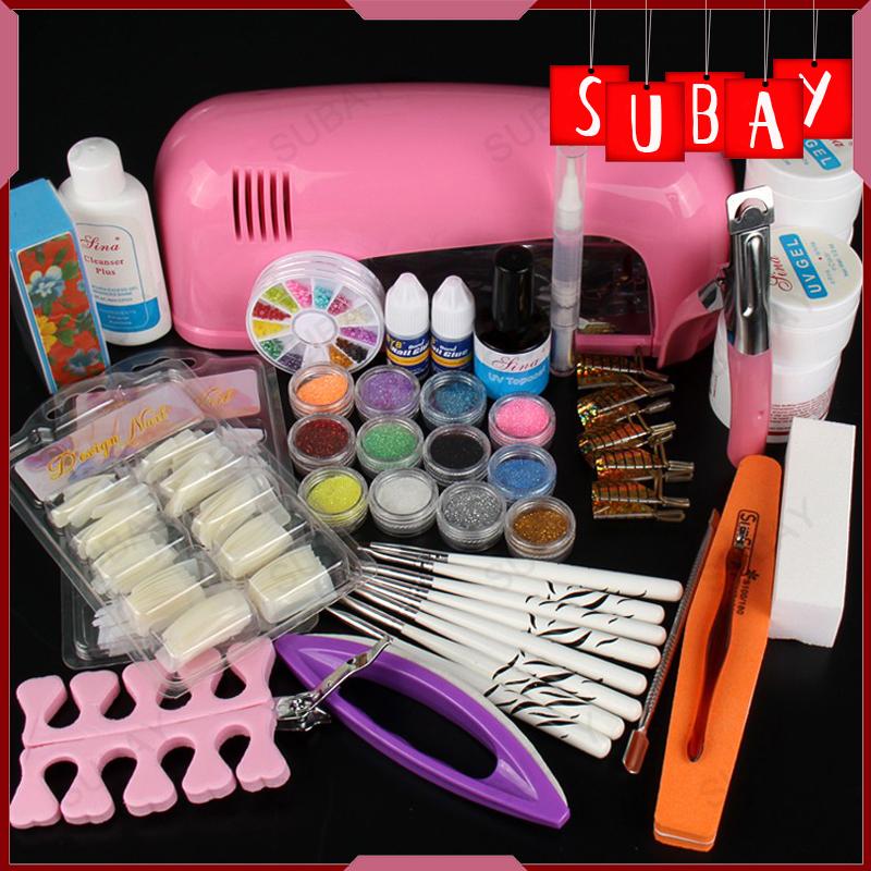 Gel acrylic nails kit