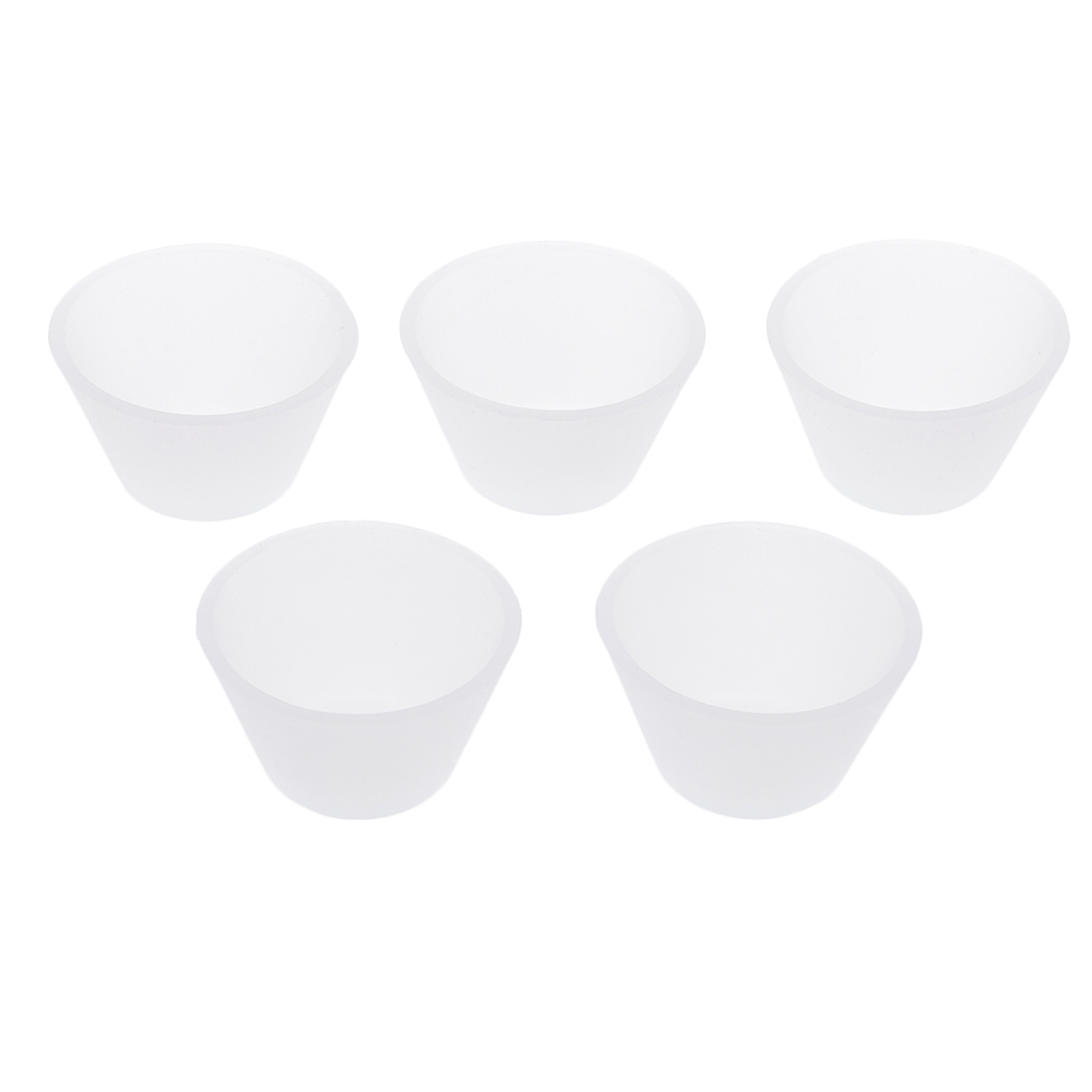 5/10pcs Non Toxic Silicone Cup Durable Resin Distribution Mixing Cups For Jewelry Making Tools DIY Crafts Supplies