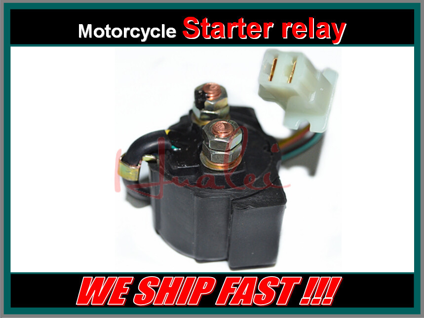 Free Shipping Motorcycle Electrical Parts Starter Solenoid Relay For YAMAHA XV750 VIRAGO 750 1981-1983(China (Mainland))