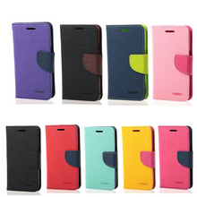 Mercury Goospery Premium PU Leather Card Wallet Flip Case Cover For Asus ZenFone Go ZC500TG(China (Mainland))