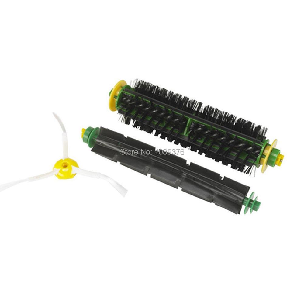 Free Post New Brush filter For iRobot Roomba 500 Series 530 540 550 560 570 580 551 561 555(China (Mainland))