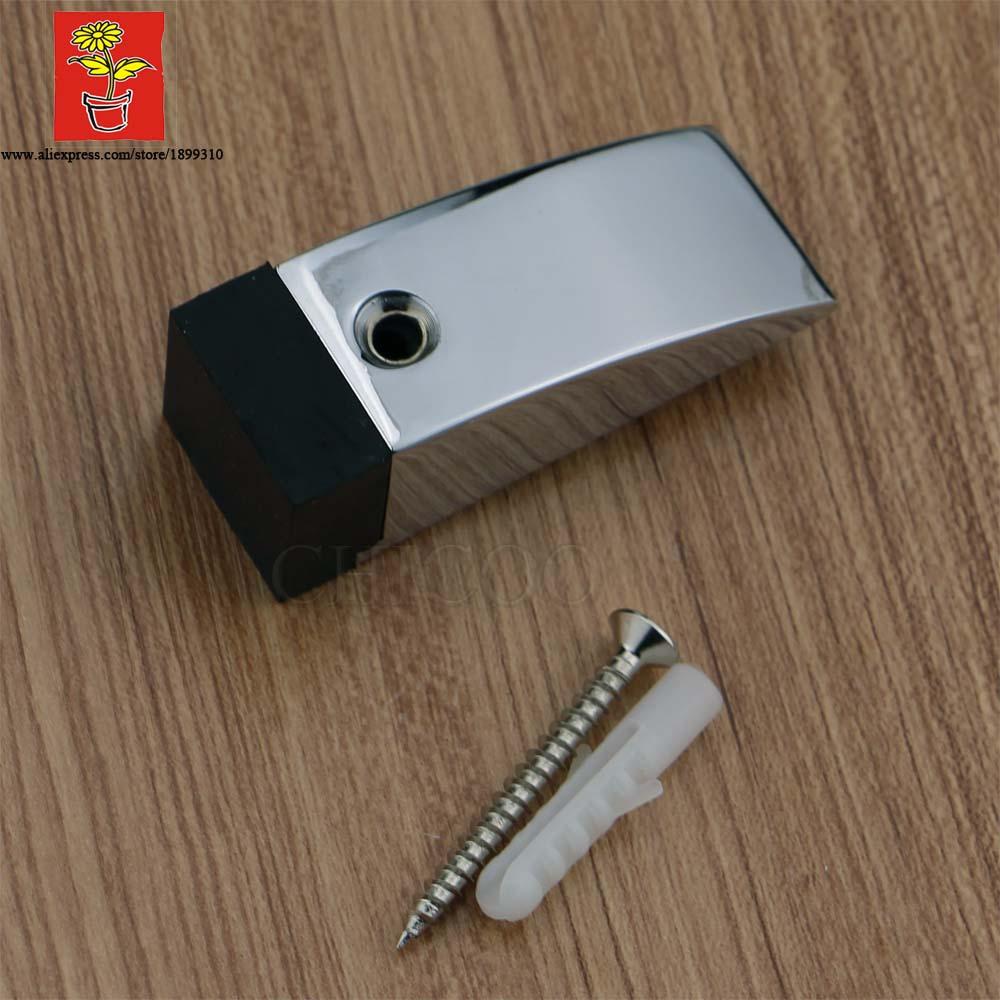 CHICOO Modern Floor Mounted Positioning Of  Door Zinc Alloy Door Fittings Door Stopper Rubber Holder <br><br>Aliexpress
