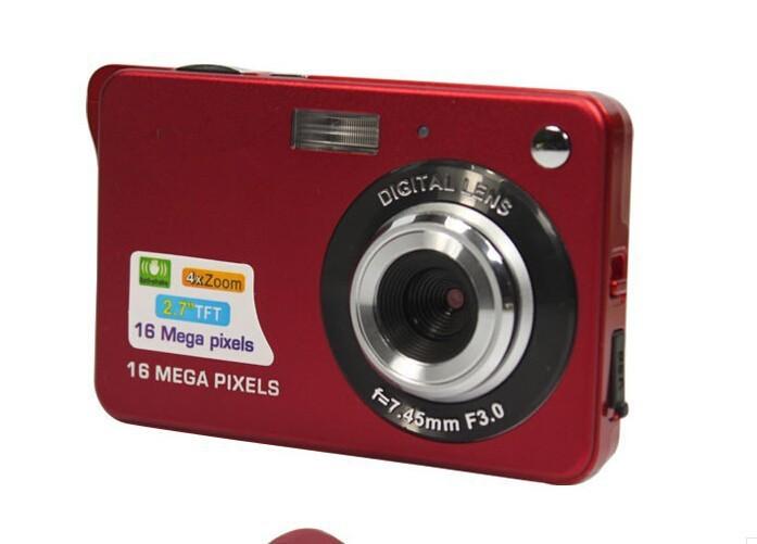 """2.7"""" TFT LCD Screen 18.0MP 720P 4X Digital Zoom DC Digital Camera Professional with max 32G SD Card Slot CMOS Image Sensor(China (Mainland))"""