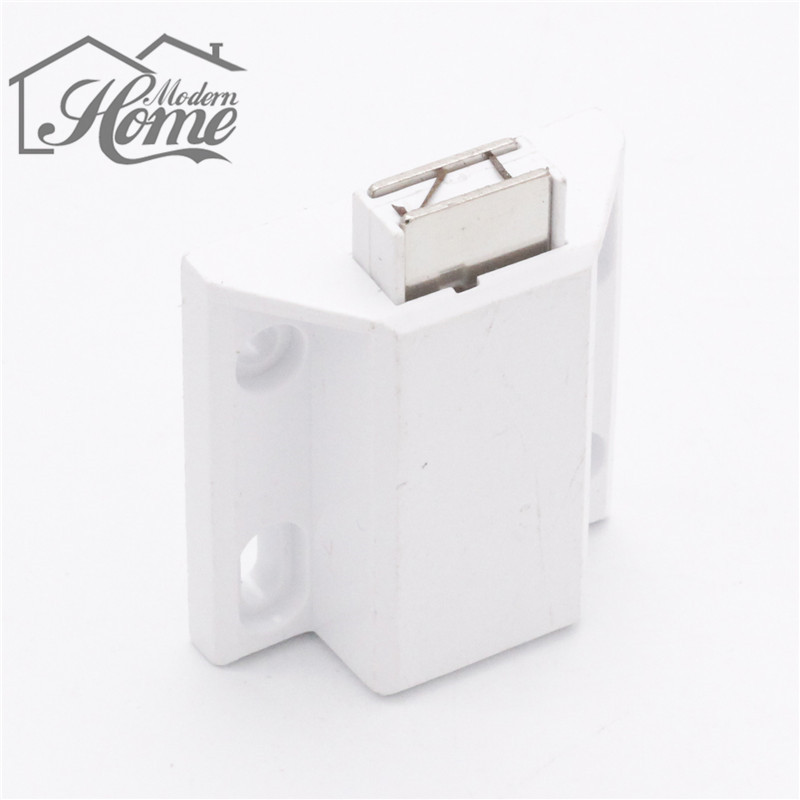 1pc Single Rebound Magnet Imported ABS And Magnetic Cupboard Wardrobe Cabinet Latch Catch High Quality Cool Design New(China (Mainland))