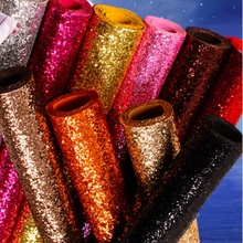 HM27 chunky glitter wallcovering roll for the wall sparkle wallpaper background(China (Mainland))