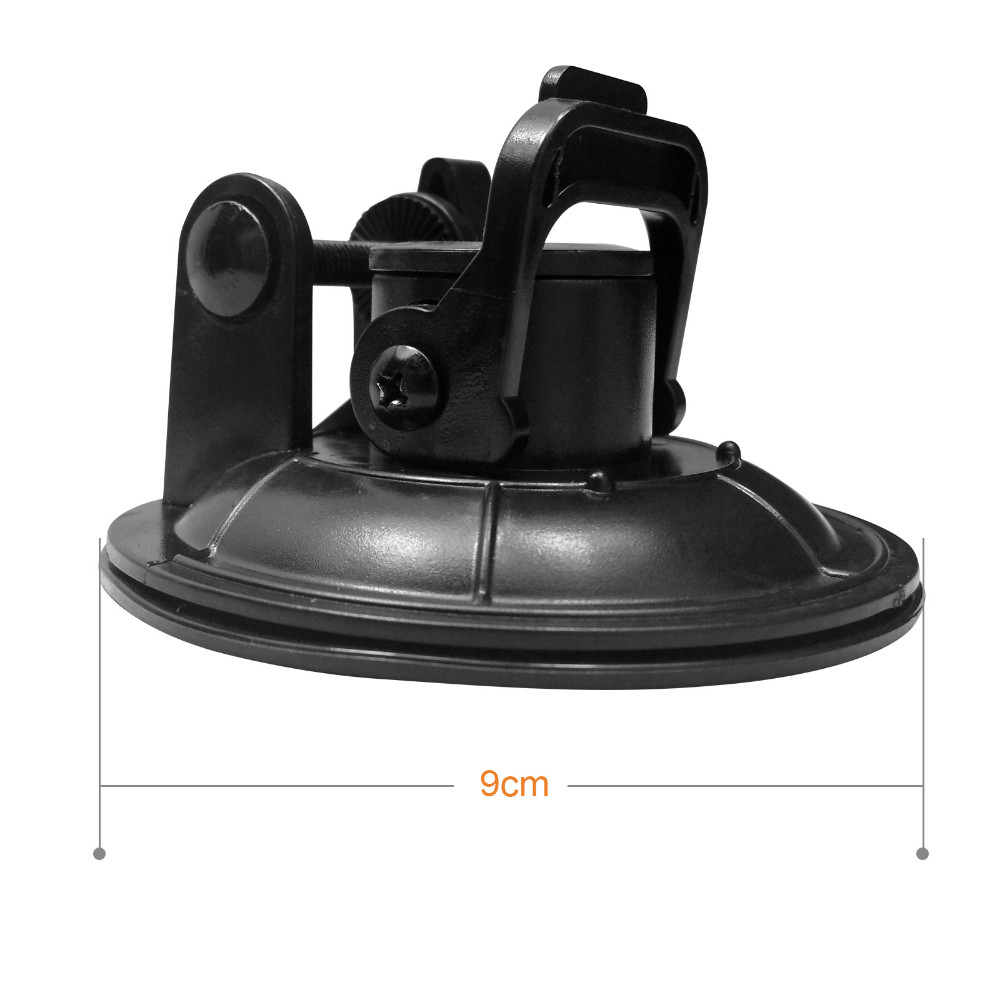 Low Angle Removable Car Suction Cup Mount  For GoPro Hero 4 3 Xiaomi Yi SJ4000 SJ5000 SJ7000 Go pro Camera Accessories