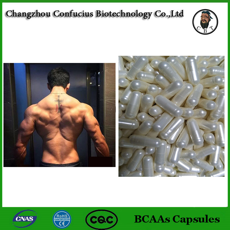 New Arrival 120 Caps BCAAs Capules Strong Muscle Nutrition Sports Dietary Supplements Branched Chain Amino Acid 2:1:1
