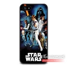 Vintage Star Wars Film Poster Cover Classic Case For iPhone 6 6 Plus 5 5s 5c 4 4s iPod 5(China (Mainland))