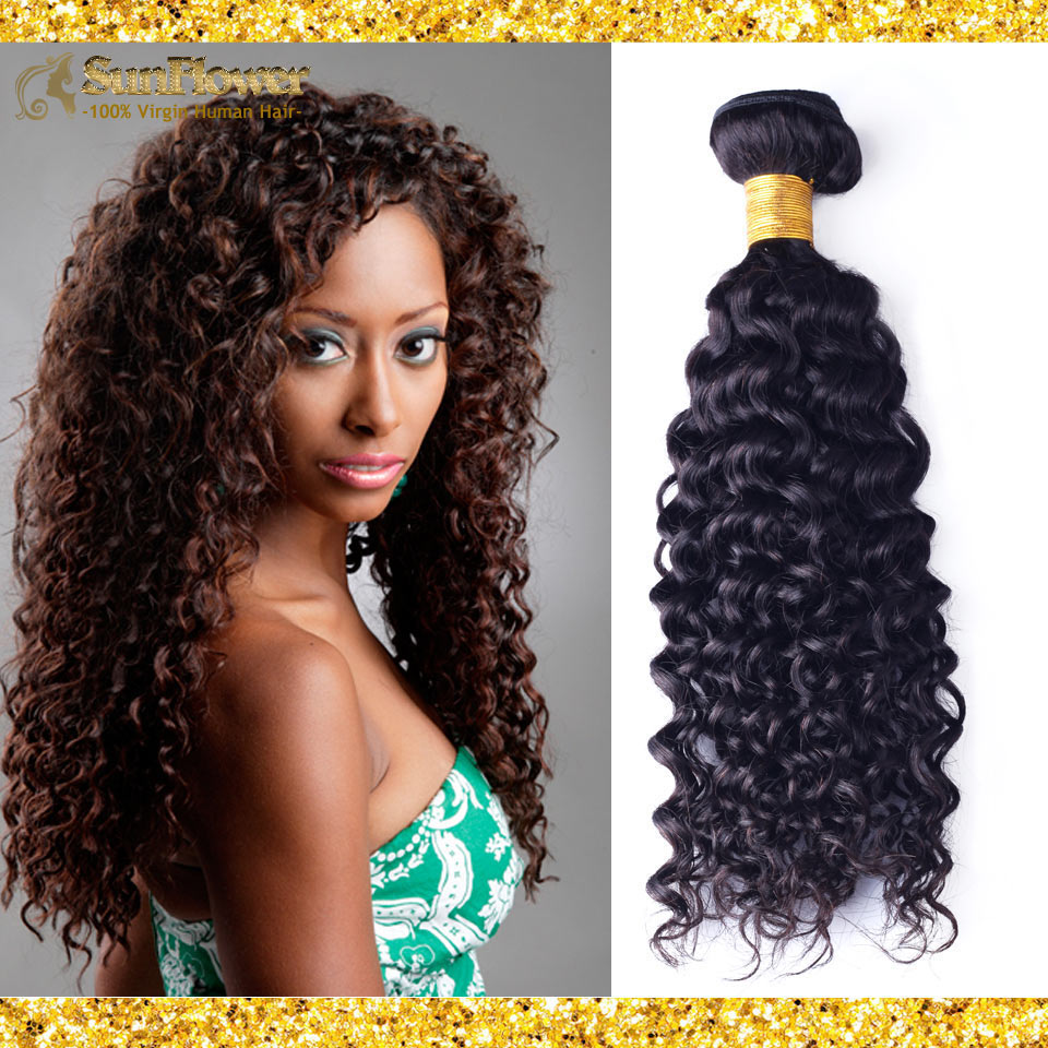 7A Indian Curly Virgin Deep Wave Hair 4 Bundles Rosa Hair Products Unprocessed Indian Virgin Human Hair Weave Extensions