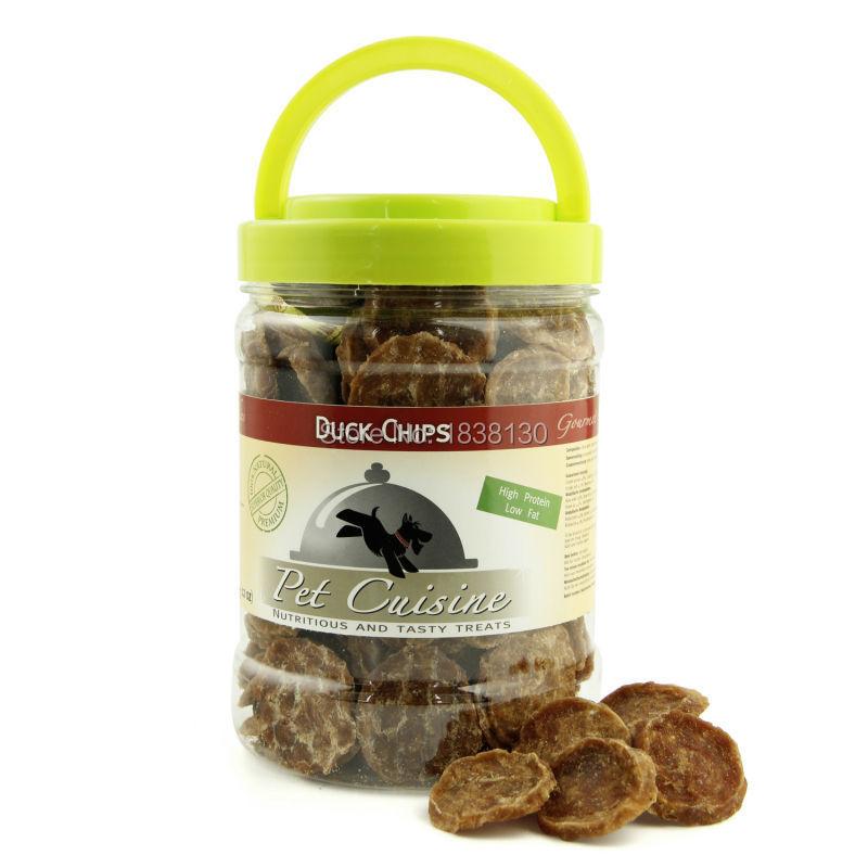APC002PM014 Pet Cuisine Natural Healthy  Dog Food Puppy  Chews, Duck Chips, 340g Premium Dog Treats Training Snacks