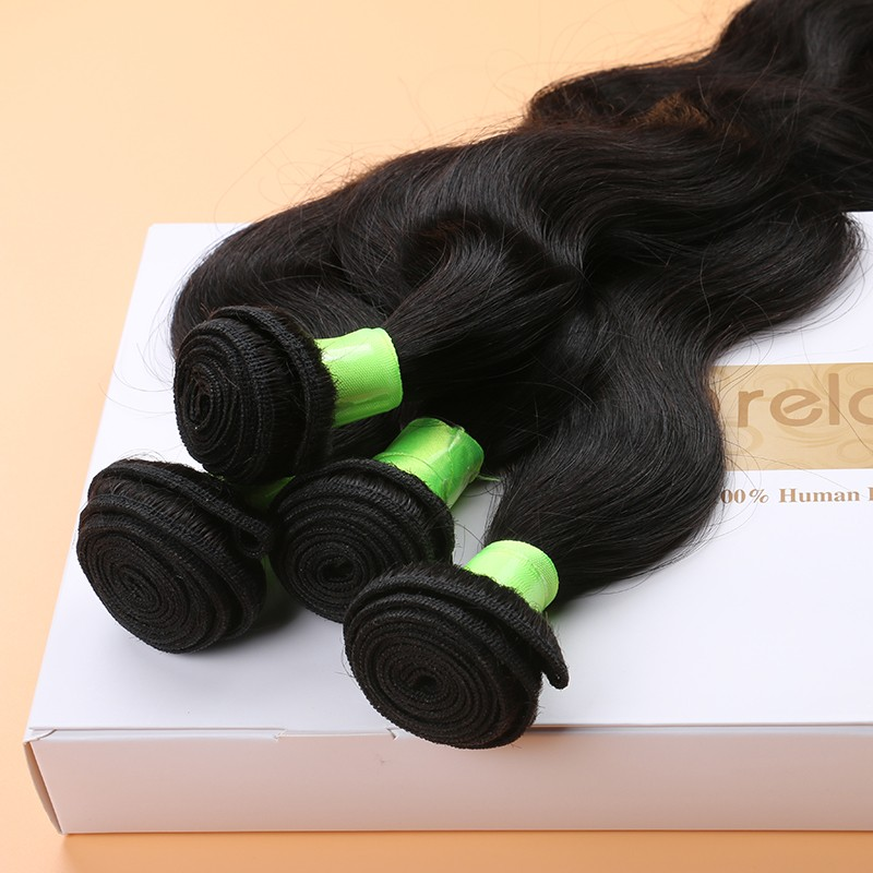 Brazilian Virgin Hair Body Wave Human Hair Weave Brazilian Body Wave 4 Bundles Soft Silk Natural Color Brazilian Body Wavy Hair<br><br>Aliexpress