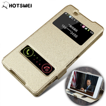Buy Case Sony Xperia Z3 Z4 Z5 Case SONY M4 Aqua M2 Z5 Compact Premium NEW View Window Stand Phone Case Leather Flip Cover for $2.86 in AliExpress store