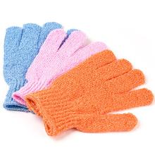 20pcsShower Scrubber Exfoliating Scrub Exfoliating Skid Resistance Body Massage Bath Gloves Wash Skin Spa Foam Bath Accessories(China (Mainland))