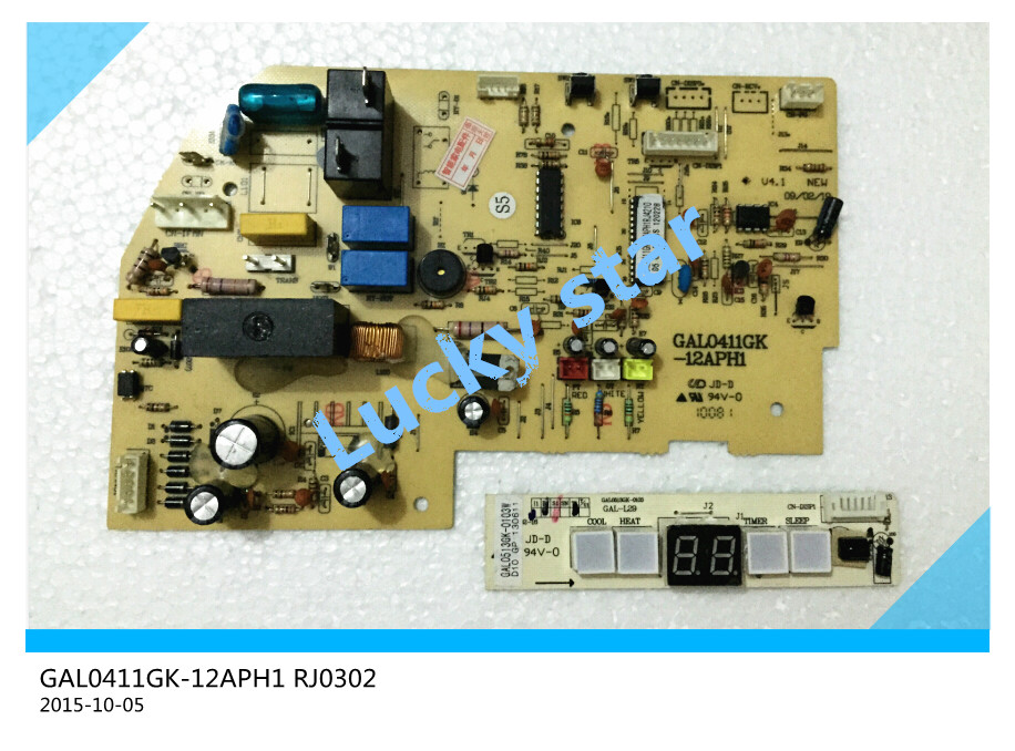95% new for Samsung Air conditioning computer board GAL0411GK-12APH1 RJ0302 PC board good working 2pcs/set<br><br>Aliexpress