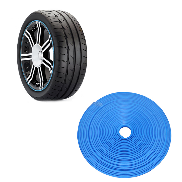 Universal Rubber Moulding 3 Color Car Wheel Protector Line 8M Rim Care (Please Remarks color)(China (Mainland))
