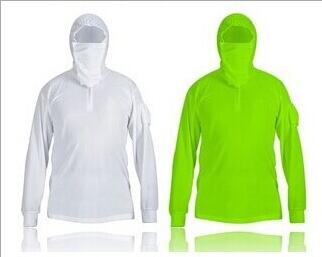 Outdoor Fishing Mountain Camping Anti-uv Breathable Fishing Wear Vest Clothes for men Long-sleeve Sunscreen Clothing