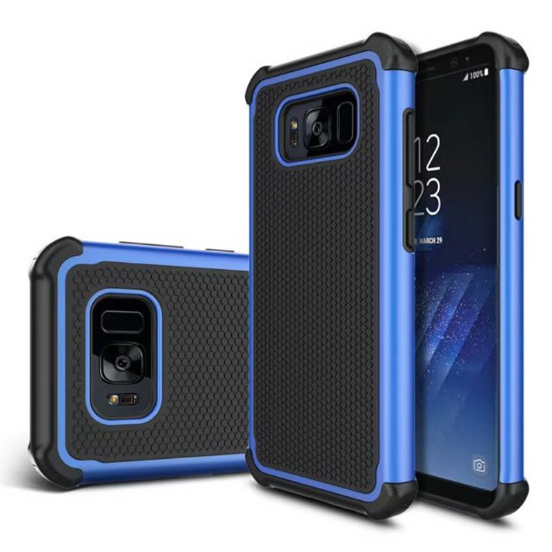 For Samsung Galaxy S8 Plus Football Armor Case Hard Tough PC + TPU Cover for galaxy S6 S6edge S7 S7edge Phone case Anti knock(China (Mainland))