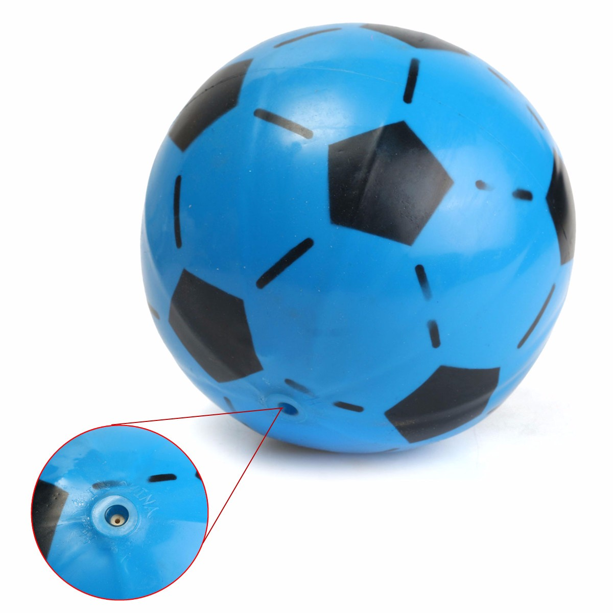 Inflatable PVC Football Soccer Ball Toys for Children Kids Toy Swimming Summer Party Beach Bouncing Ball Diameter 15 cm(China (Mainland))