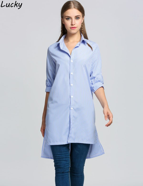 Online Get Cheap 2016 Linen Stripe Shirts White Dress -Aliexpress ...
