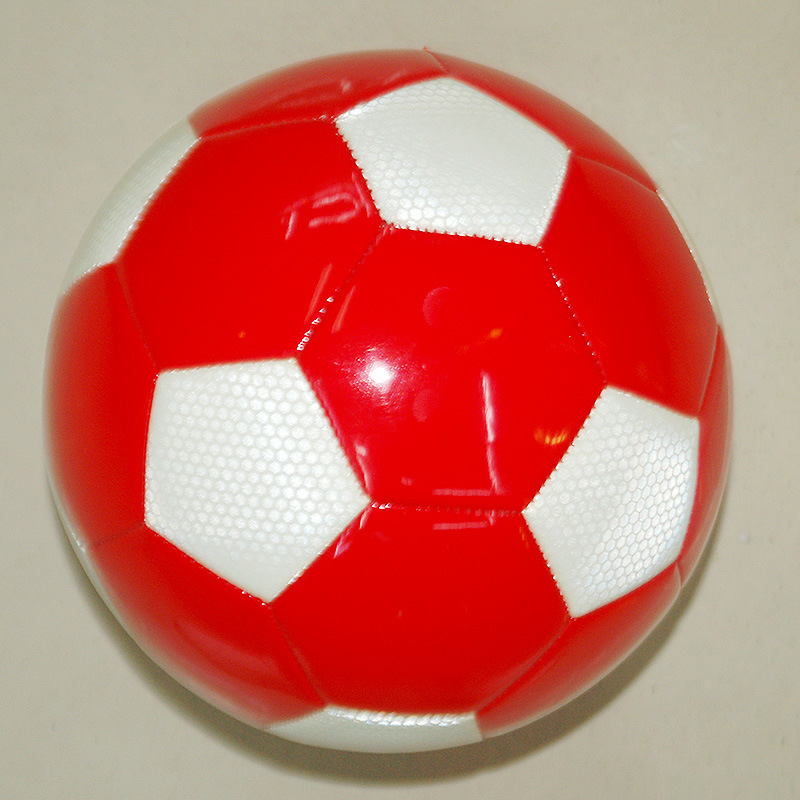 Manufacturers low-cost promotional children color football Pu sewing Soccer 4 children's toys small football wholesale 3(China (Mainland))