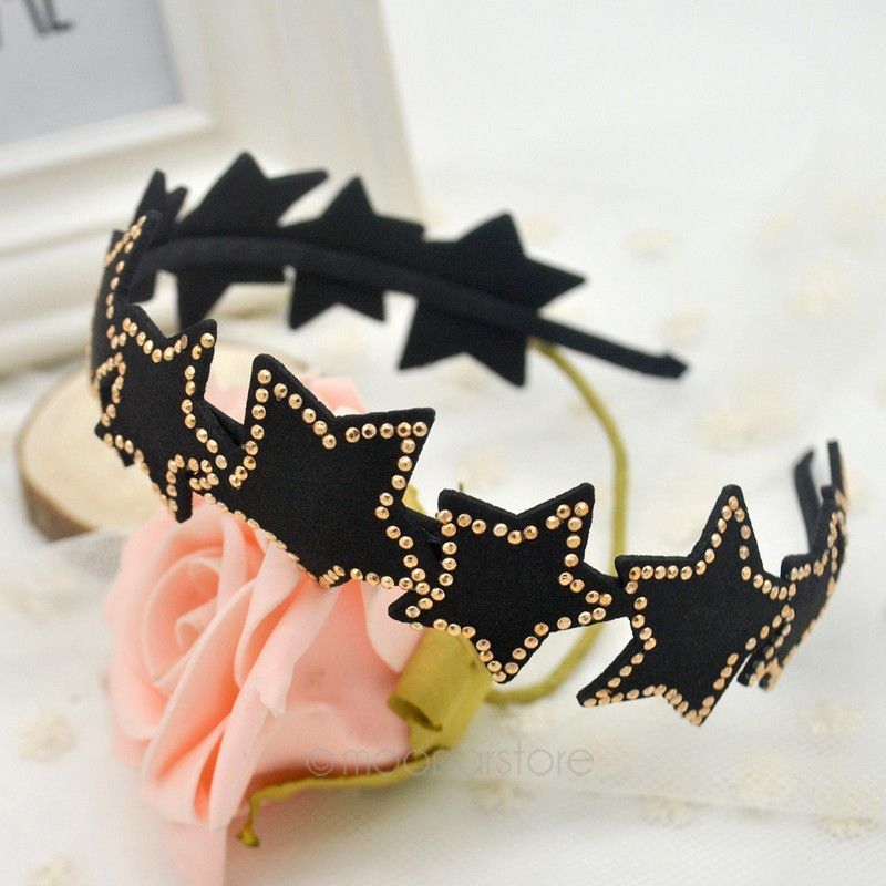 2015 The newest five-pointed star hair bands headband ,fashion hair pin hair accessory ZSS0027(China (Mainland))