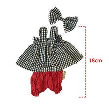 30 cm Roupas de Boneca para o Coelho/Gato/Urso Brinquedos de Pelúcia Saia Sweater Terno Acessórios para 1/6 Bonecas BJD presentes para As Crianças Meninas(China)