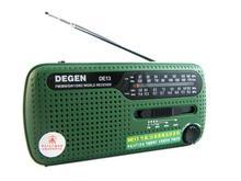 DEGEN DE13 FM AM SW Crank Dynamo Solar Power Emergency Radio A0798A World Receiver(China (Mainland))