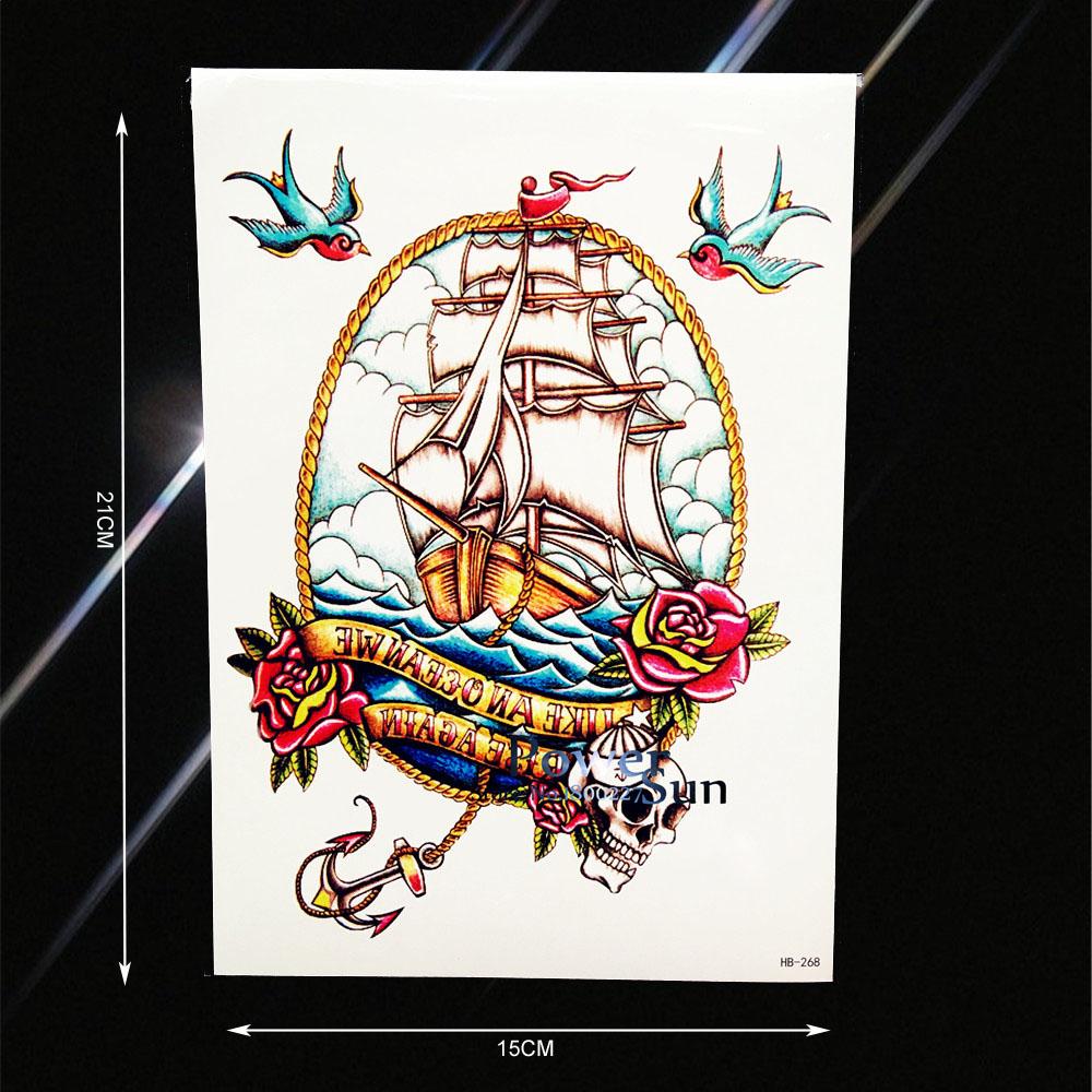 Preis Auf Pirate Ship Tattoos Vergleichen  Online