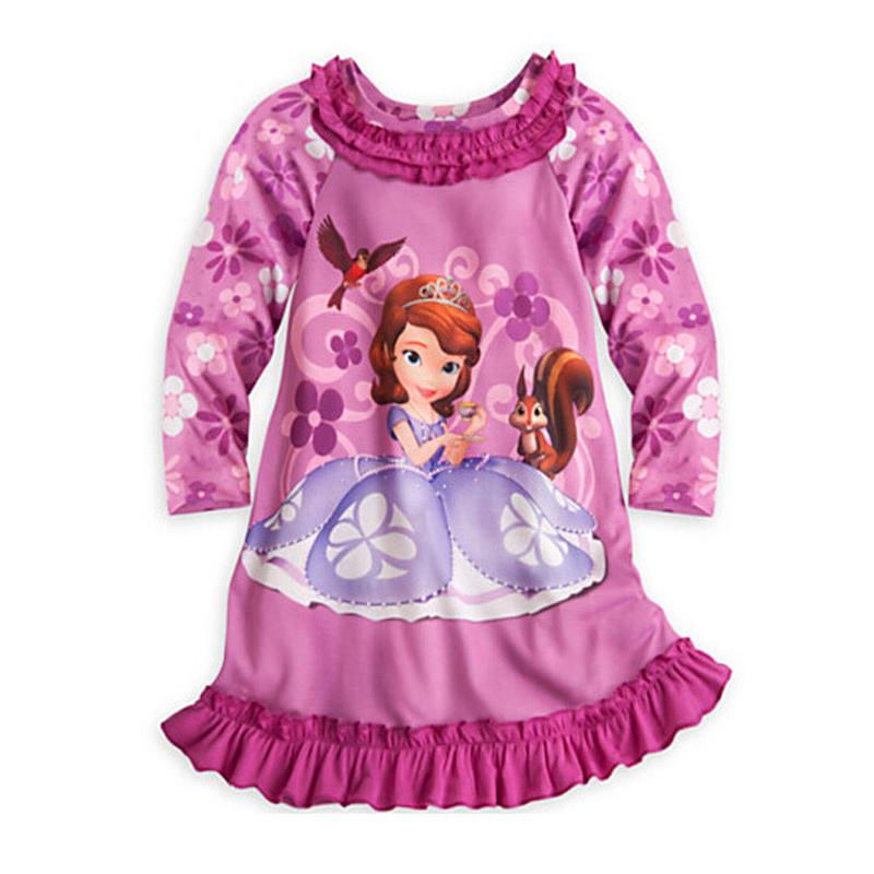 2016 new children's clothing girls dress cartoon round neck long-sleeved dress fashion children's clothing(China (Mainland))