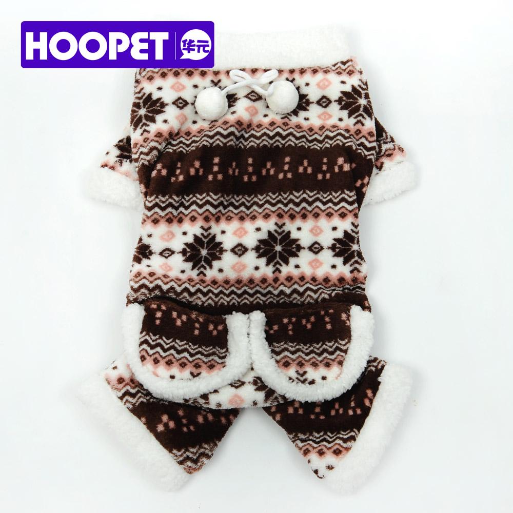 HOOPET pet clothes coral fleece plush warm soft cute snowman dog jumper jumpsuit small pet teddy spring autumn(China (Mainland))