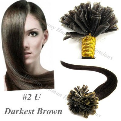 U Tip Indian Hair Extensions 6