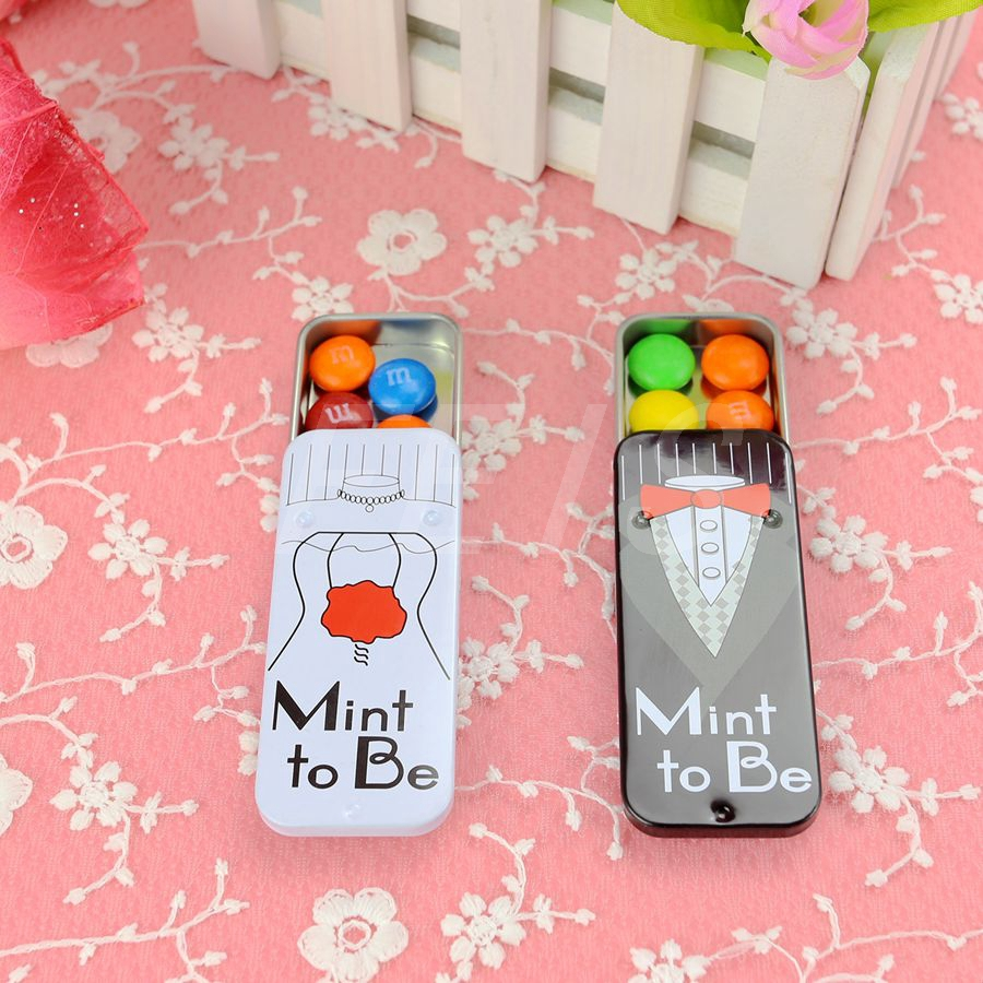 2/sets pcs bride and groom wedding candy box black and white iron candy boxes Wedding Party Baby Shower Marriage Gift &Favors(China (Mainland))