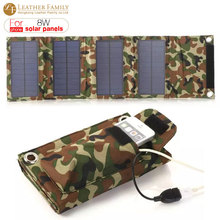 8w solar Foldable Folding Solar Panel Charger External Power Bank Backup battery for iphone 6s 7 smartphone Outdoor Portable bag(China (Mainland))