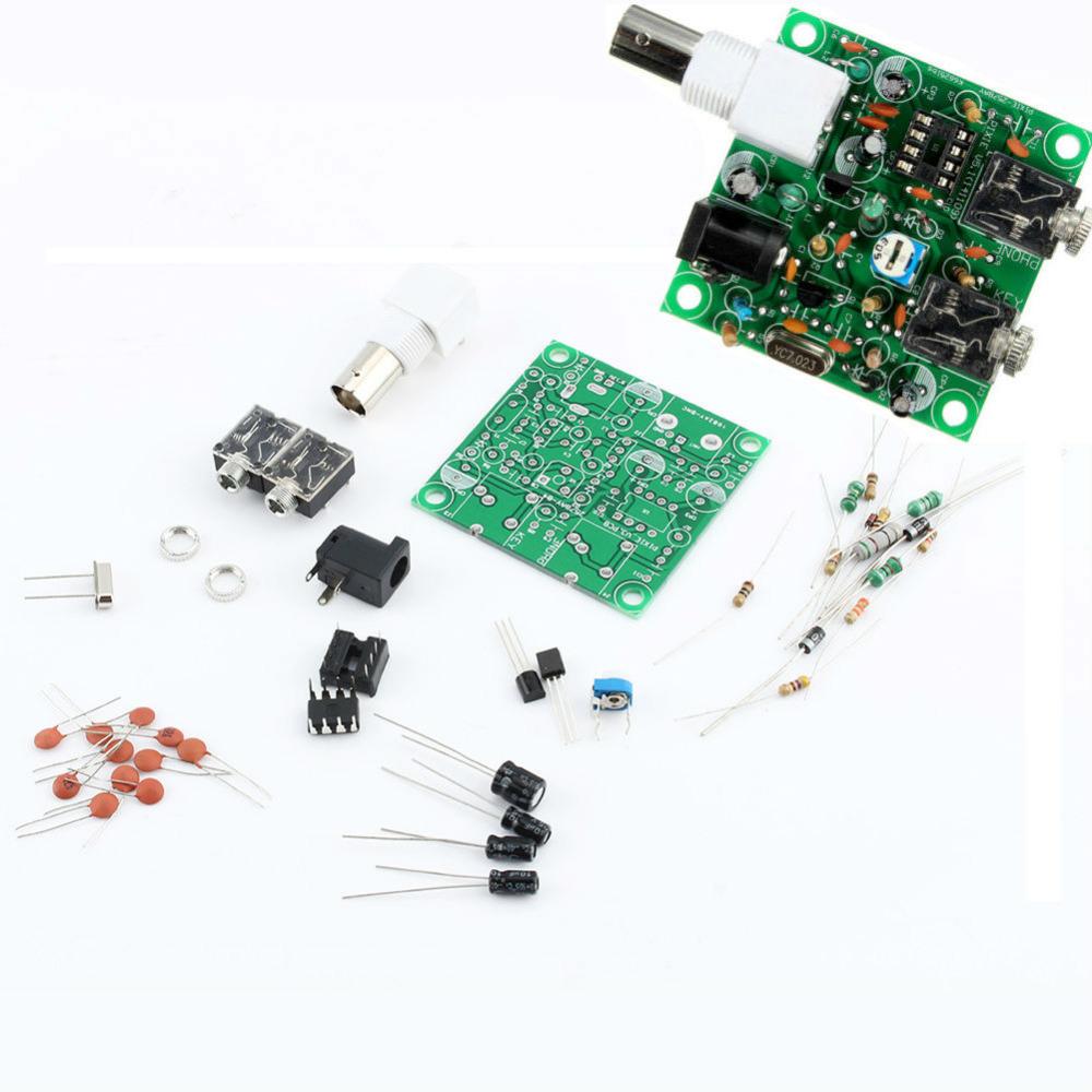 HAM RADIO 40M CW Shortwave Transmitter Receiver 7.023-7.026MHz QRP Pixie Kit DIY DC 9v-14v DIY Radio Transmitter Receiver Kit(China (Mainland))