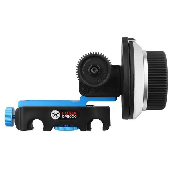 FOTGA DP3000 QR Quick Release Follow Focus Support 15mm rod for BMCC FS700 C300 DSLR HDSLR HDV(Hong Kong)