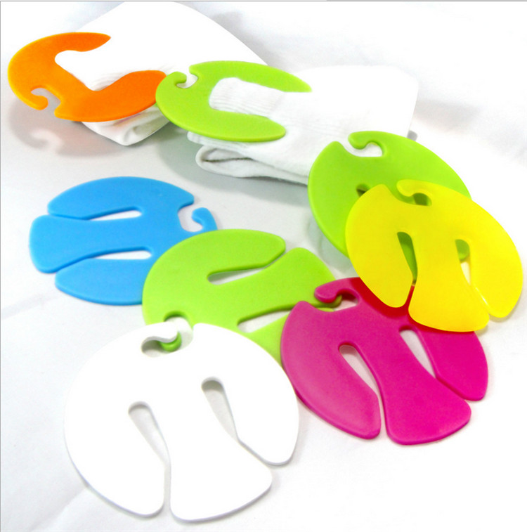 300 pcs Sock Clips Colorful Sock Organizers Sorters Holders<br><br>Aliexpress