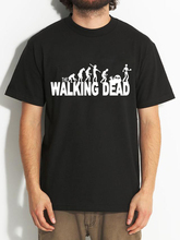 100% Cotton Letter Printed T-shirts Men Walking Dead Loose Casual Men T Shirts Short Sleeve Summer 2016 Brand Tshirt Homme Tees