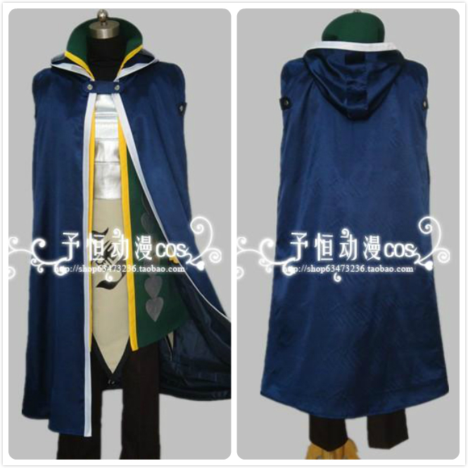 Fairy Tail Seven Years Later Jellal Fernandes Cosplay Costume Full Set Одежда и ак�е��уары<br><br><br>Aliexpress
