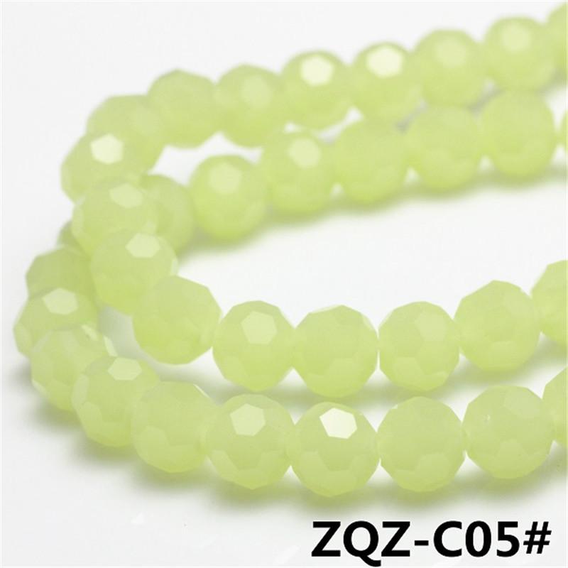 Ceramic Lampwork Glass Beads 8MM 70PCS/LOT Czech Glass Charms Football Beads Ceramic Porcelain Beads For Diy Jewelry Bracelet(China (Mainland))