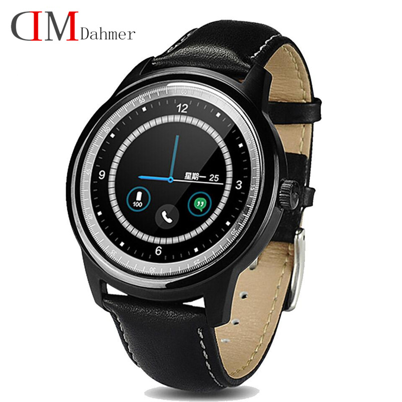 Best selling Original DM365 Smart Watch Full HD IPS Screen bluetooth SmartWatch Fitness Tracker App For iphone IOS Android phone(China (Mainland))