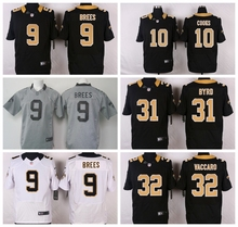 TOP A 100% Stitiched,New Orleans Saints,9 Drew Brees,Jairus Byrd,Kenny Vaccaro(China (Mainland))