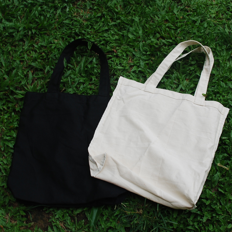 Wholesale Blanks Cotton Canvas Halloween Tote Bags Plain White Tote Black Good Quality DOM1038142(China (Mainland))