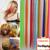 20 Дюйм(ов) 16 Цвет Расширение Синтетические Волосы Длинные Прямые Ролик В Наращивание Волос Жаропрочных Красочные Парики
