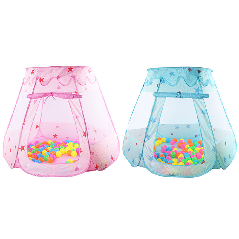 New Indoor Polyester Play House Baby Ocean Ball Pit Pool Kids Princess Hexagonal Tent(China (Mainland))