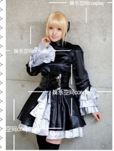 Buy fate stay night zero Saber black formal princess lolita dress party dress cos customize black dress cosplay for $86.99 in AliExpress store