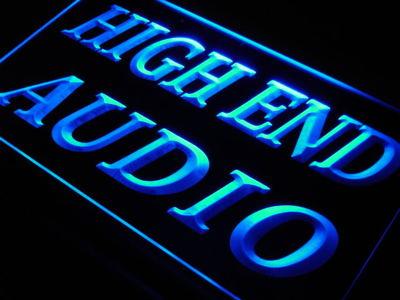 j689-b High End Audio Hi Fi Theater Shop LED Neon Light Sign Wholesale Dropshipping(China (Mainland))