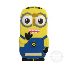 Lovely 3D Cute Cartoon Despicable Yellow Minions Soft Silicon Case Back Cover Asus Zenfone 2 5 inch ZE500CL - Global Trading Co., LTD store